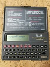 Seiko Instruments Sii Handheld American Heritage Dictionary Personal Edition