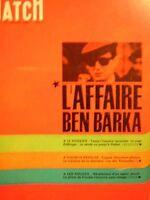 PARIS MATCH N° 0877  CHEF DU S.D.E.C.E. AFFAIRE BEN BARKA 1966