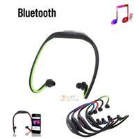 Wireless Bluetooth Stereo Headphone Sport Gym Mic Headset Earphone for iphone PC