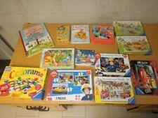 Konvolut Sammlung Spiele Puzzle Kleinkinder Kinder ca. 3-5 Jahre Ravensburger
