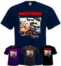 Day Of The Dead v8 T-shirt purple graphite horror movie Romero all sizes S-5XL