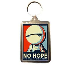 Marvin the Paranoid Android - Keyring (NO HOPE)