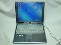 FUJITSU LIFEBOOK T Series T3000 Laptop 40GB HDD 256MB RAM NO ADAPTER For Parts