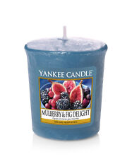 Yankee Candle Duftkerze Votivkerze Sampler 49g   Mulberry & Fig Delight