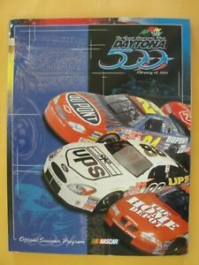 2001 Daytona 500 Official Souvenir Program with extras