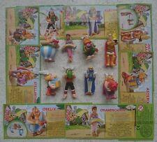 """Satz """"50 Jahre Asterix - Jubiläumsserie"""" 2009 mit allen 8 verschiedenen BPZ """"D"""""""