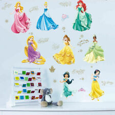 8X Disney Princess Wall Sticker Girl Room Nursery Children Kids Girl Wall Decals