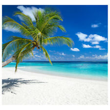 TROPICAL BEACH Photo Backdrop CARDBOARD CUTOUT Standup Standee Background Poster
