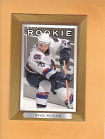 2003 04 BEE HIVE RYAN KESLER ROOKIE #217 VANCOUVER CANUCKS