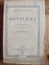 Jose-Maria de Pereda Sotileza Librairie Hachette 1899 Espagne Cantabrie Carliste