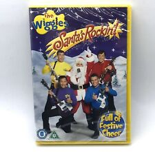 The Wiggles - Santa's Rockin Christmas DVD New & Sealed Fast Free Post