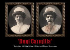"Haunted Memories ""Aunt Carmilla"" 5 X 7 Changing Portrait"