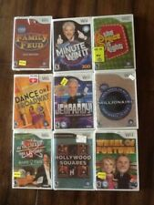 Wii Games Lot Of 9 Brand New -- Sealed