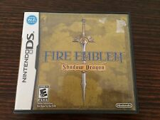 Fire Emblem Shadow Dragon (Nintendo DS) Complete NTSC Genuine Rare RPG Strategy