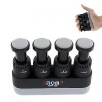 Medium Tension Hand Finger Exerciser Grip Trainer 4LB-7LB for Guitar/Bass Player