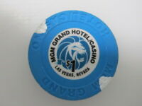 $1 MGM GRAND Hotel & Casino Las Vegas NV Nevada + FREE Mystery Bonus Poker Chip