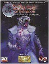 d20: Races of Legend, Slaves of the Moon - The Essential Guide to Lycanthropes