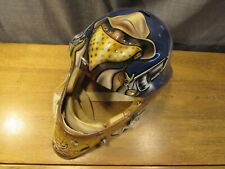 Rare Early Todd Miska Custom Painted Hockey Goalie Mask Vintage Promasque NHL