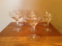 7 Delicate Top Quality Crystal Wine Sherry Glasses