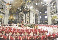 2013 Sede Vacante - Vaticano - busta filatelico numismatica