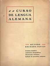 CURSO DE LENGUA ALEMANA. Edición de 1927
