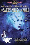 THE SADDEST MUSIC IN THE WORLD DVD (2004) Isabella Rossellini Mark McKinney NEW