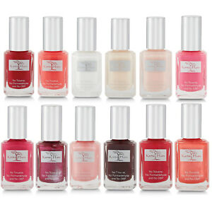100% Natural Organic Nail Polish Non-Toxic, Vegan and Cruelty-Free Manicure