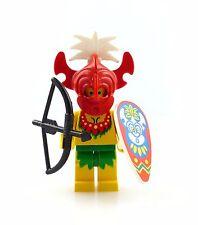 #e6282 Lego Piraten Minifigur Insulaner mit Maske Schild & Bogen * 6278 * 6262 *