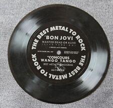 Bon Jovi, wanted dead or alive, SP - 45 tours flexy / souple
