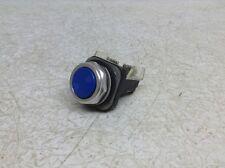 Allen Bradley 800T-A Blue Push Button 800Ta 800T Complete w/ Contact Block