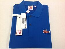 LACOSTE L!VE Short Sleeves Polo Shirt, Size 5/L UltraSlim
