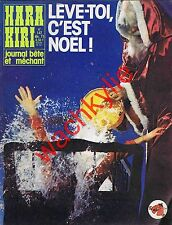 Hara Kiri n°147 du 12/1973 Noël Choron Reiser