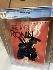CGC 9.9 -TMNT The Last Ronin #1 Kevin Eastman Retailer Incentive Variant Cover