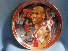 "Return To Greatness Plate ""Record 72 Wins"" Michael Jordan"