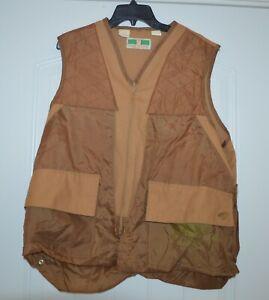 Vintage Game Winner Sportswear Hunting Shooting Bird Deer Vest Men's Large