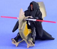 Star Wars Deluxe épisode 1 Loose ultra rare Sith Speeder & Darth Maul. C-10+