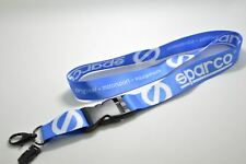 SPARCO JDM drift seat wheel belt brake blue eparco Lanyard Phone Strap Key Chain