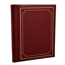 ARPAN Self Adhesive Large Photo Albums Totaling 20 Sheets 40 Sides, Burgundy,...