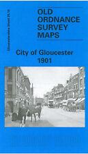 OLD ORDNANCE SURVEY MAP CITY OF GLOUCESTER 1901