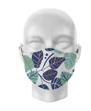 ADULT Face Mask Covering Mouth Protection Washable Reusable LEAVES