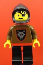 LEGO Castle Wolfpeople Wolfpack 2 with Red Cape cas234 Minifigure 1590 1596