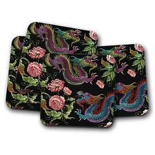 Rosa Taza De Té Grande Coaster por claryce Designs