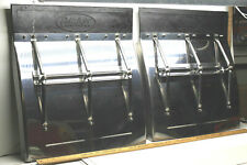 "2 Vintage 1991 Peterbilt Stainless Steel Mud Flaps #F2c-10-1991 24.5"" W x 27""L"