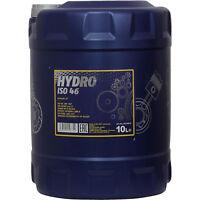 10 Liter MANNOL HYDRO ISO 46 Hydraulik Öl Flüssigkeit MN2102-10 DIN 51524 part 2