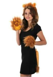 Lion Ear/Tail Set - School Play - Costume Accessories - Adult Teen Child