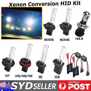 AC H1 H7 H3 H11/9/8 9005 9006 HID Xenon Bulb Slim Ballast Conversion Kit Replace