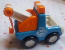 1987 Bandai Tonka Tow Service Truck Toy Tow Truck Vintage • hard to find • cute