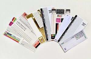 Blank VHS Stickers & Labels 4 Pack!