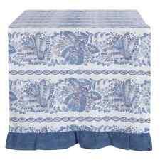 Tischläufer Läufer Tischdecke blau weiss Denim Look Blanc Mariclo