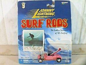 "Johnny Lightning Surf Rods  ""Malibu Babes"" Pink Hot Rod Coupe   2000"